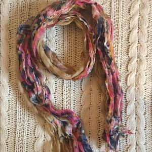 Forever 21 multi color scarf